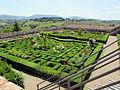 Villa corsini di mezzomonte, giardino all'italiana, terrazza superiore 01.JPG