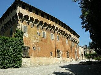 Medici villas - Image: Villa di careggi 02