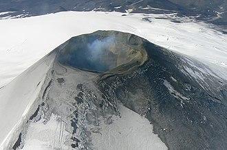 Villarrica (volcano) - Aerial view of Mount Villarrica