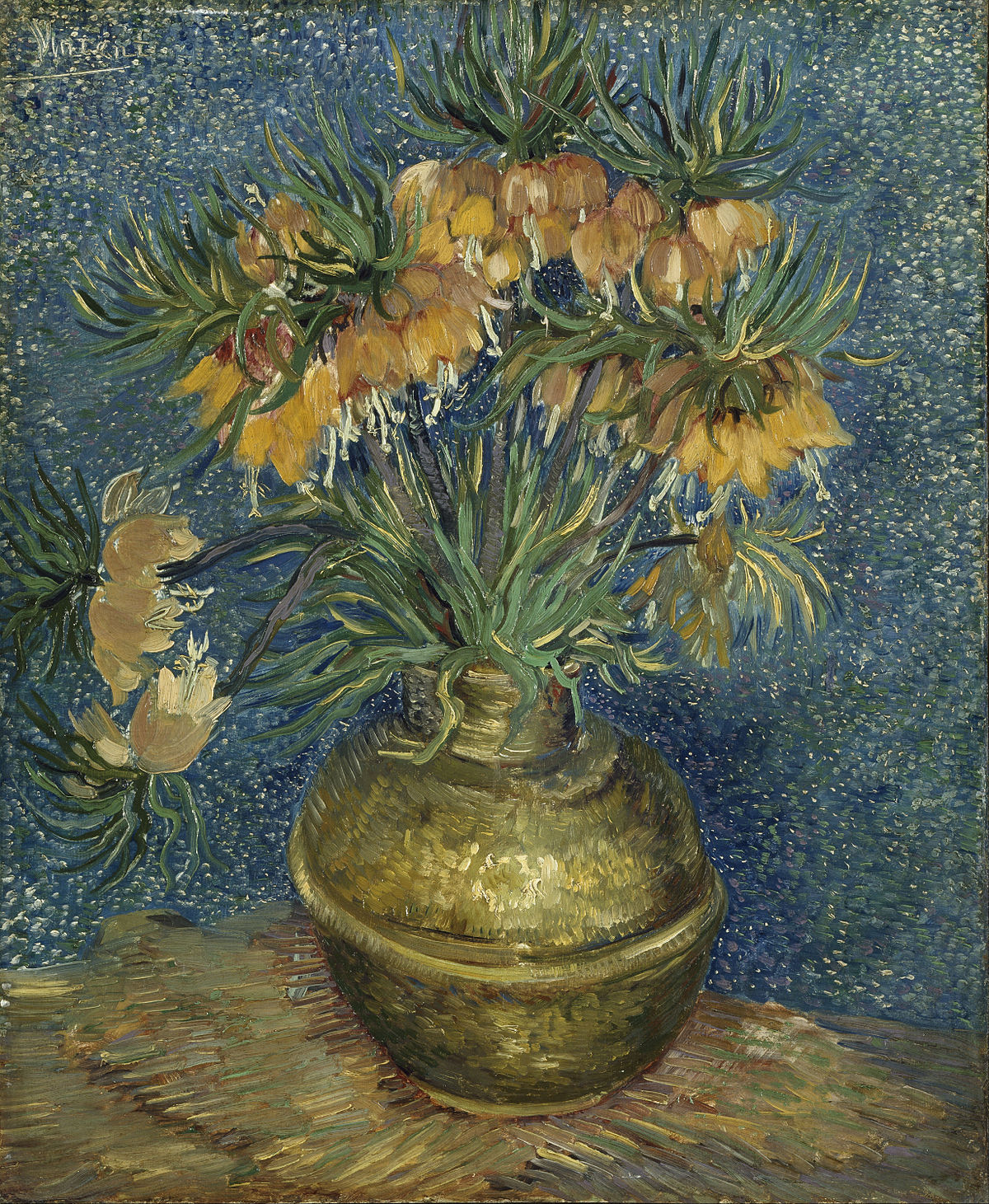 Imperial Fritillaries In A Copper Vase Wikipedia