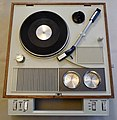 Vintage Aircastle Solid State Radio-Phonograph, Model PHR-1200, 3-Speed, AM-FM, AC-DC, Made in Japan (12613857484).jpg