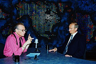 Larry King Show - King interviewing Vladimir Putin