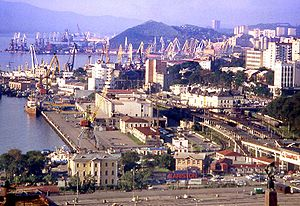 I took this picture of Vladivostok city and ha...