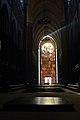 Voille de marbre translucide sur la façade de la Cathédrale Notre Dame de la Treille.jpg