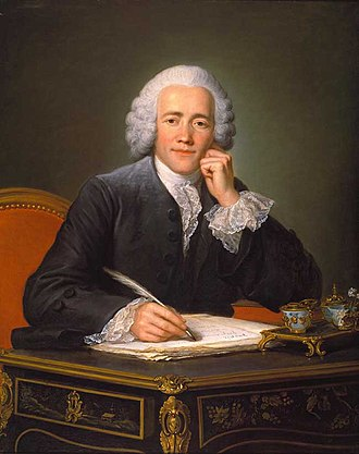 Guillaume Voiriot - Portrait of M. Gilbert de Voisins, Councillor of State in Ordinary, 1761