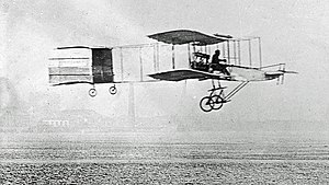 Farman-Voisin I am 13. Januar 1908 in Issy-les-Moulineaux