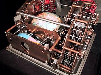 "Voskhod Spacecraft ""Globus"" IMP navigation instrument - IMP Globus, inside view"