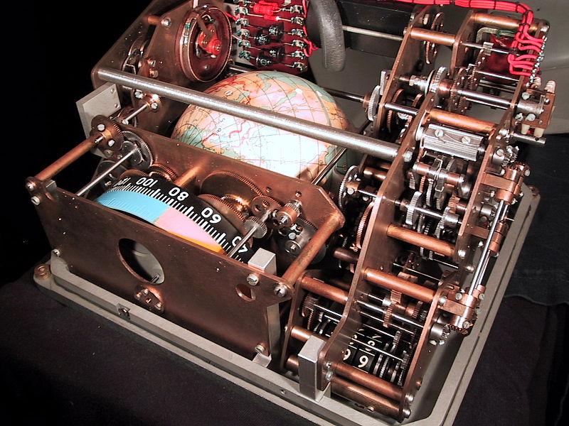 File:Voskhod spacecraft IMP 'Globus' navigation instrument, inside view.jpg