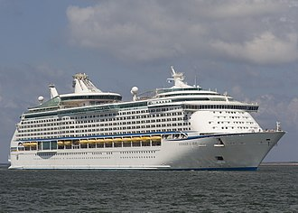 Lead ship - Image: Voyager of the Seas at hakata port