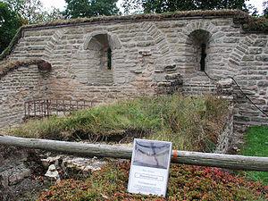 Vreta Abbey - Image: Vreta kloster dormitorium