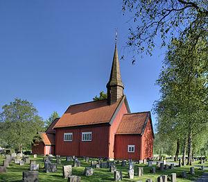 Vuku - View of the church in Vuku