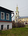 Vyksa. Bell tower of Church of the nativity of Jesus Christ.jpg