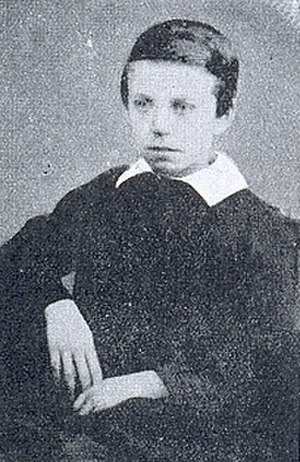 W. T. Stead - W. T. Stead as a child.
