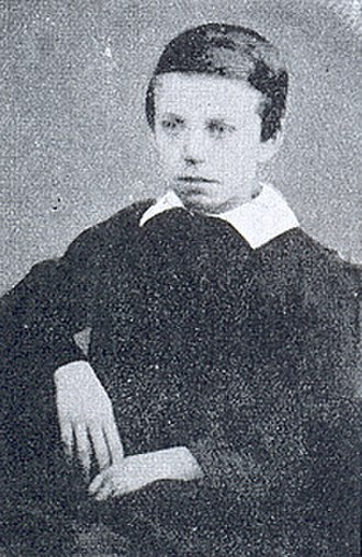 W. T. Stead - W. T. Stead as a child