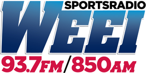 WEEI (AM) - Logo of the radio station under the Sportsradio branding