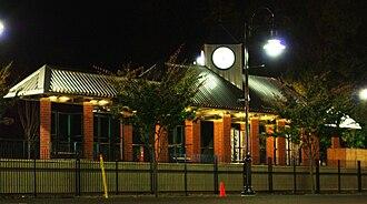 Tualatin, Oregon - Tualatin Station WES stop