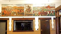 WPA mural, Crossing the Desert by Laverne Black.jpg