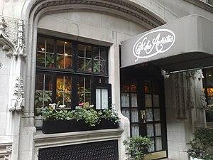 Café des Artistes - Café des Artistes' front entrance.