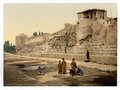 Wall over which St. Paul escaped, Damascus, Holy Land, (i.e. Syria)-LCCN2002724981.tif