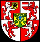Das Wappen von Weingarten