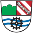 Coat of arms of Brückl (Slovene:Mostič) name_local=