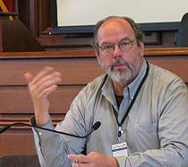 Ward Cunningham at Wikimania 2006.jpg