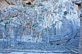Warship relief at the acropolis of Lindos 2010.jpg