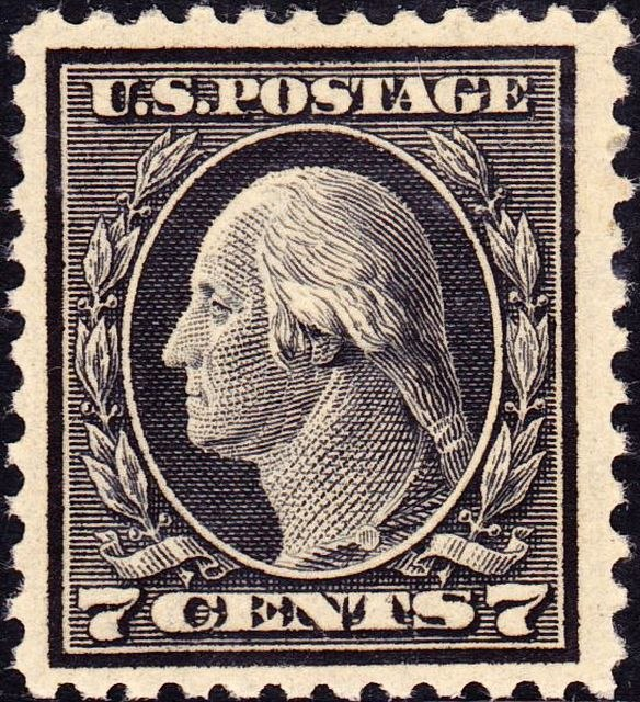 Washington WF 1917 Issue-7c