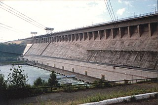 reservoir in Russia