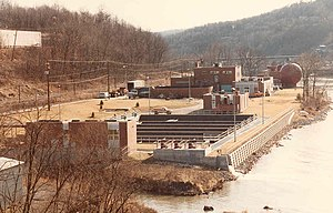 Waste water treatment plant in Morgantown WV a...