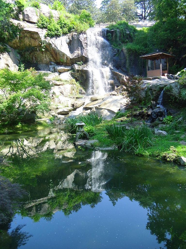 File:Waterfall, Japanese Garden, Maymont Park (7642878162