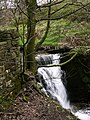 Waterfall at plunge Mill Dearden Clough - geograph.org.uk - 369549.jpg