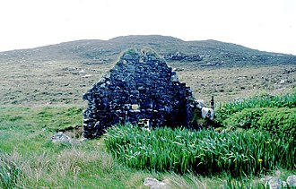 Barra - An abandoned watermill on Barra
