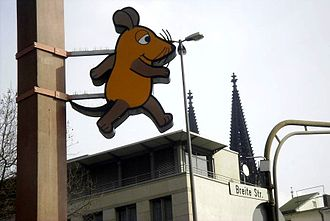 Die Sendung mit der Maus - The mouse, mascot of the show