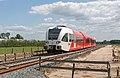 Wehl dubbelspoor in aanleg Arriva Spurt 370 als trein 30940 naar Arnhem (18376531428).jpg