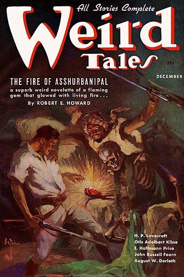 Weird Tales December 1936