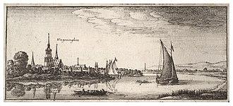 Nederrijn - Image: Wenceslas Hollar Wageningen