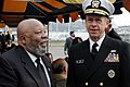 Wesley Brown with Admiral Mullen.jpg