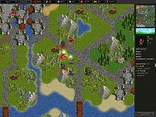 Battle for Wesnoth, un tipico videogioco strategico a turni, basato sul ragionamento