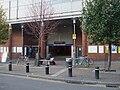 West Ham stn entrance closeup.JPG