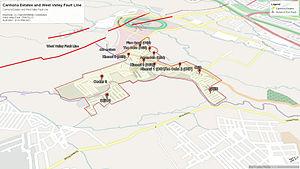 Carmona, Cavite - West Valley Fault Line passing through Carmona