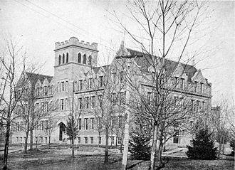 West Virginia Wesleyan College - Main Hall, 1908