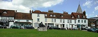 Westerham - Image: Westerham green