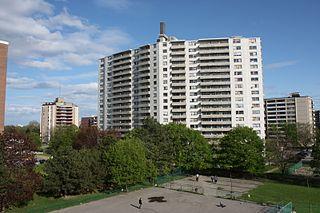 Westminster–Branson Neighbourhood in Toronto, Ontario, Canada