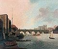 Westminster Bridge and Abbey, London, by Daniel Turner BOE 0588.jpg