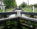 Weston Lock on the Trent and Mersey Canal, Derbyshire - geograph.org.uk - 1612463.jpg
