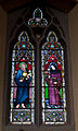 Wexford Church of the Assumption North Aisle Window of Sts Nicholas and Margaret 2010 09 29.jpg