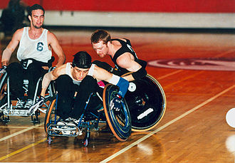 Australia national wheelchair rugby team - Wheelchair rugby Atlanta Paralympics (11)