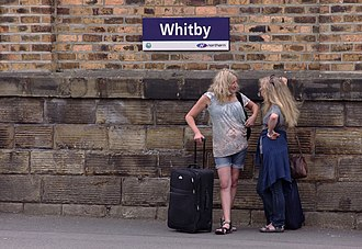 Whitby railway station - Image: Whitby railway station MMB 12