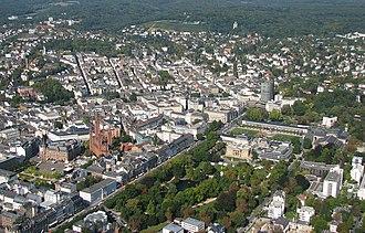 Wiesbaden - Aerial view of Wiesbaden